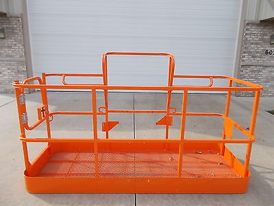 New Jlg 8 Platform Side Entry Basket Manlift Bucket - Free Shipping In Us
