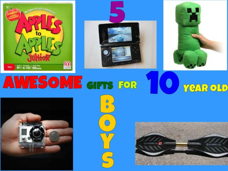 5 Awesome Gifts For 10 Year Old Boys