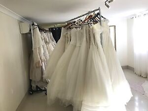 WEDDING GOWNS MUST GO VARIOUS STYLES AND SIZES DRESSES Auchenflower Brisbane North West Preview