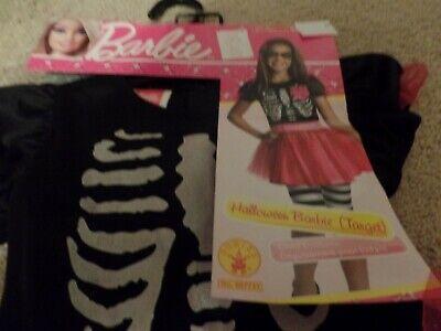 Halloween Costumes Skeleton Pirate (Barbie, Skeleton/Pirate, Halloween Costume, 3-Piece, Size: Small 4-6,)
