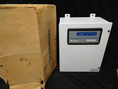 Liebert New Interceptor Surge Suppressor S120y222-01 120208v 3ph Wye 4wg