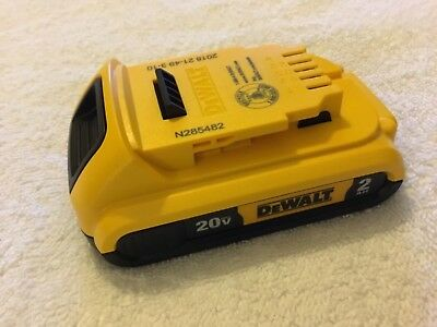 New Dewalt 2018 DCB203 20V Max Battery 2.0Ah Lithium Ion Li-Ion 20 Volt