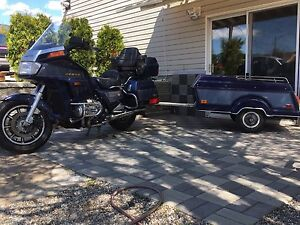 1986 Goldwing Aspencade w/ matching Mighty Mite Trailer