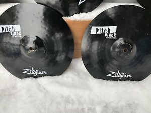 Zildjian pitch black cymbals