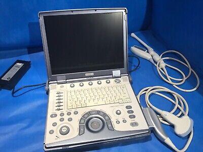 Ge Logiq E Portable Ultrasound W 4crs E8c Transvaginal Probes 5148751 2007