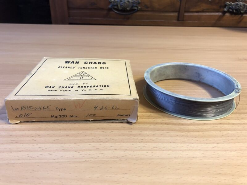 TUNGSTEN WIRE .010""