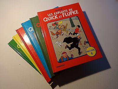 BD Lot Quick et Flupke - Recueil 1à 6 - Rée. 1975-82 - TTBE - Hergé