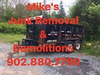 Mike's Dumping/Removal Services ( Students ask abt aug offer)