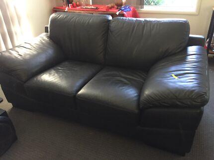 Rubelli Italian leather 2 seat couch Molendinar Gold Coast City Preview