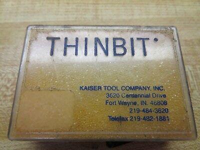 Thinbit .049 Dm-2 Special Grooving Insert Qty27 - N11