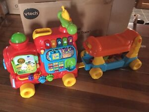 Vtech train sit-to-stand