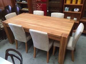 Dining Suite, Table, Chairs 6, We CAN DELIVER, Furniture,Kitchen, Brunswick Moreland Area Preview