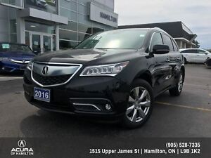 2016 Acura MDX Elite Package ELITE PACKAGE! 7 PASSENGER ! ONE...