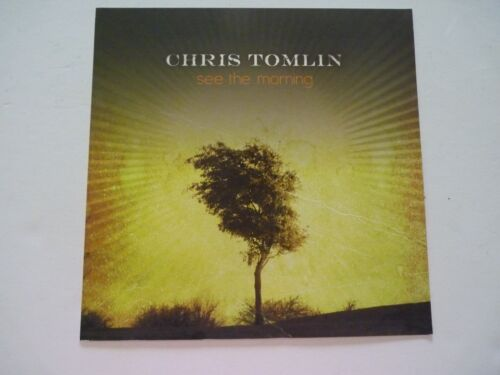 Chris Tomlin See the Morning Cardboard LP Record Photo Flat 12X12 Poster