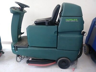 Tennant Nobles Speed Scrub Rider 32 Floor Scrubber New 305 Ah Batteries