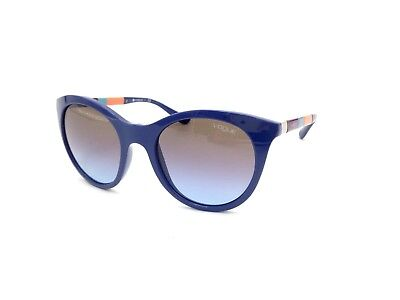$225 VOGUE WOMENS BLUE SUNGLASSES EYE GLASSES BLACK GRADIENT UV LENS VO 2971-S