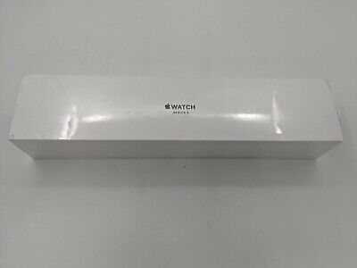 New Apple Watch Series 3 42mm Space Gray Aluminum Black Sport Band A1859 -JA0344
