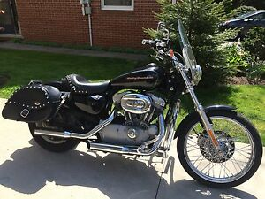 Well maintained Sportster 883 XL Custom...