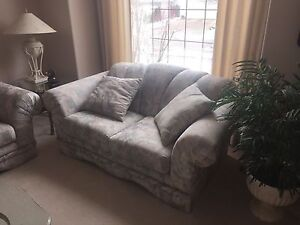 Couch and love seat, mint condition
