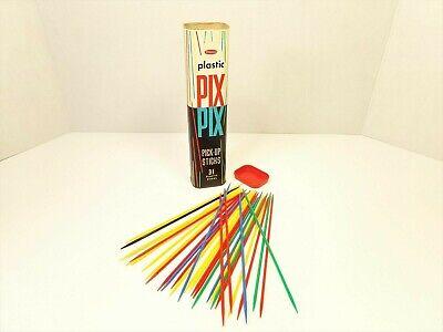 Pix Up Sticks (Whitman Pix Pix Pick-Up Sticks Game #4403:29 USA Vintage 31 Plastic Pieces)