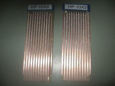 Hp Agilent 3580a Spectrum Analyzer 10x2 Board Extender Pair In Kit Form Riser