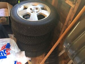 2007 Ford Focus rims winter tires