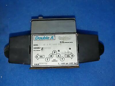 Double A Qf 5 Ff 10a3 Tspl Aqf5ff10a3tspl Hydraulic Valve 90 Day Warranty