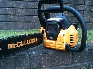 McCulloch 335 Chainsaw Hazelbrook Blue Mountains Preview