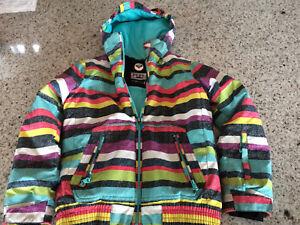 Manteau d'hiver enfant Roxy 10 ans