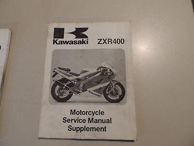193653 Anleitungen & Handbücher Kawasaki Zxr 400 Prospekt 199?