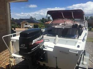 boat- stacer 420 seaway sports