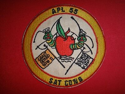 "US Navy APL-55 SWIFT BOAT COASTAL DIVISION 11 ""SAT CONG"" Vietnam War Patch for sale  Shipping to South Africa"