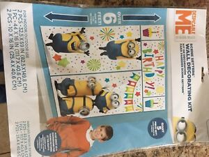 Minions themed Party supplies