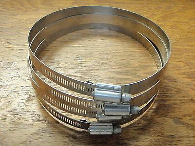HEAVY DUTY HOSE CLAMP 316S/S HTM650 RANGE 5-3/4