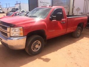 2010 Chevrolet Silverado 2500 duramax 4x4 water damage