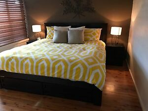 Solid timber bed suite Mount Hutton Lake Macquarie Area Preview