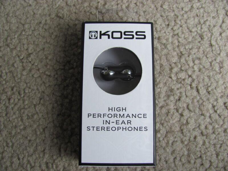 Koss Earbud Headphones Black SRSIL100K
