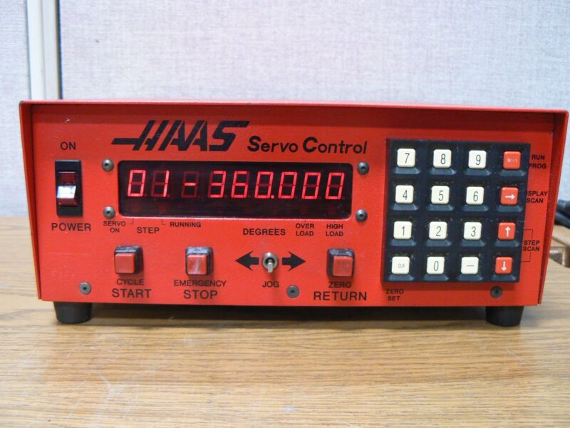 HAAS HA5C HRT 17 PIN SERVO CONTROLLER 4TH AXIS CONTROL INDEXER