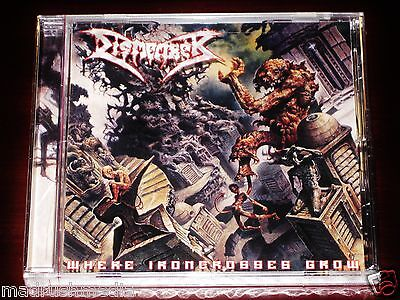 - Dismember: Where Ironcrosses Grow CD 2004 Iron Crosses Candlelight USA NEW