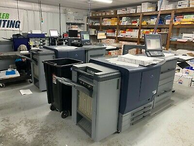 Konica Minolta C7000 Digital Press, Fiery Recently Under Service Contract