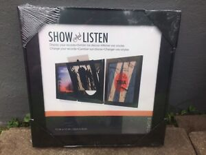 Record Wall Display and Listen Frame