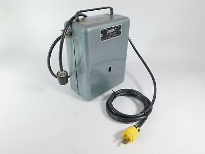 General Radio W20m Variac Adjustable Power Transformer 0-140cvac Works Well