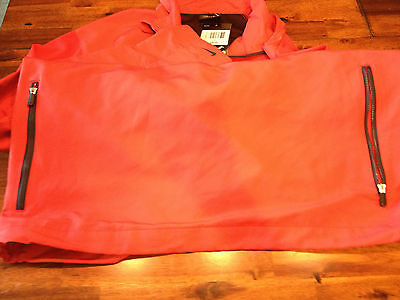 1bfb2745e18 NIKE GOLF WINDBREAKER PULLOVER NEW RED IN COLOR