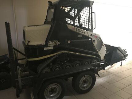 Mini bobcat and trailer for sale will sell separate if needed