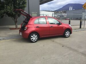 Automatic Nissan Micra 2013 Derwent Park Glenorchy Area Preview