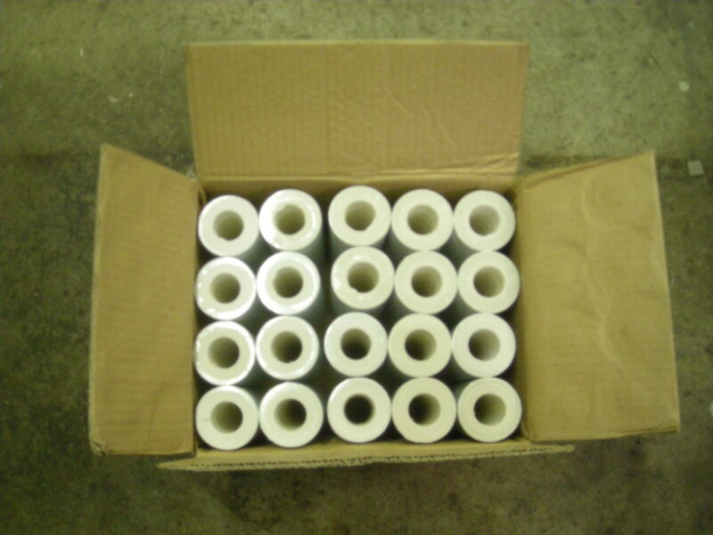 1 Case of  White Labels for Garvey 22-6,22-7,22-8 , 220,000 Labels, 10 inkers