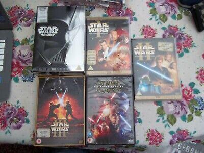 Star Wars DVD Bundle Collection - Episodes 1-7