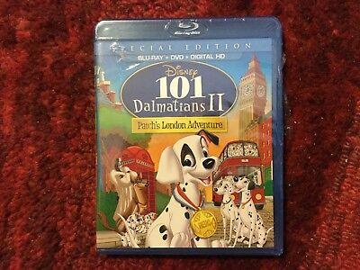 Disney  101 Dalmatians Ii Patchs London Adventure   Like New Blu Ray   Dvd Set
