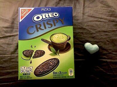 Nabiso Oreo Crispy Matcha Latte (Green Tea) Flavor 24 Piece Per Box JAPAN NEW