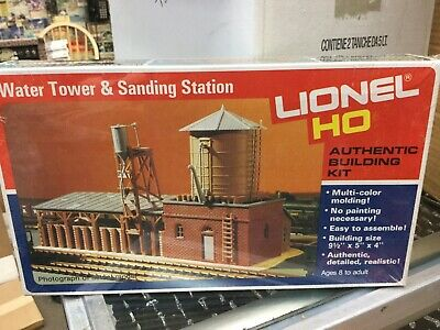 - Lionel HO Scale Water Tower & Sanding Station 5-4552 Building Kit New in Box